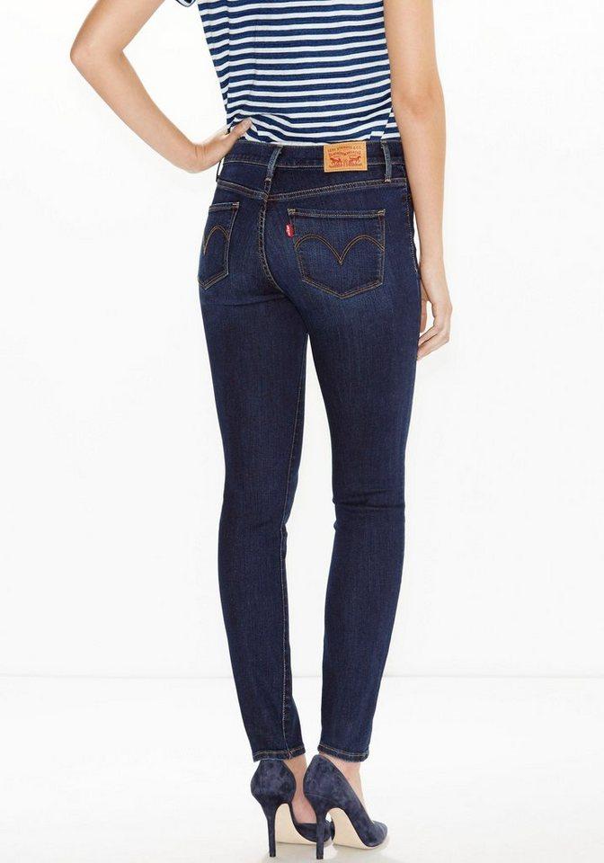 Levi's® Slim-fit-Jeans in darkblue-used
