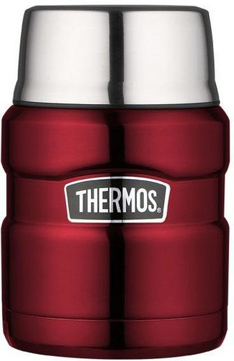THERMOS Thermobehälter »Stainless King«, Edelstahl, (1-tlg), 470 ml