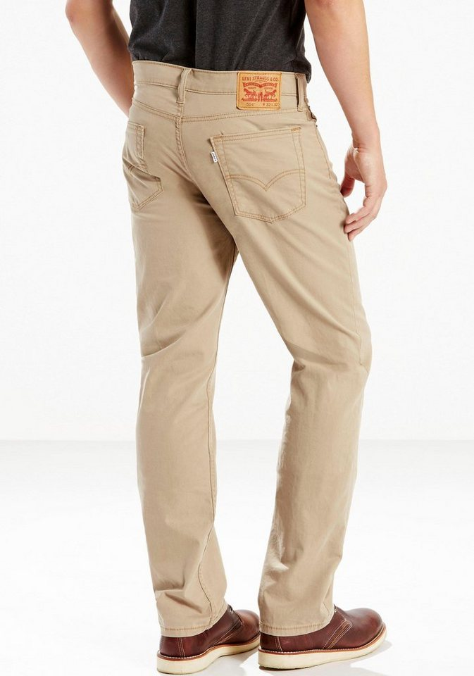 Levi's® Straight-Jeans »514™« in Earth Khaki Motion