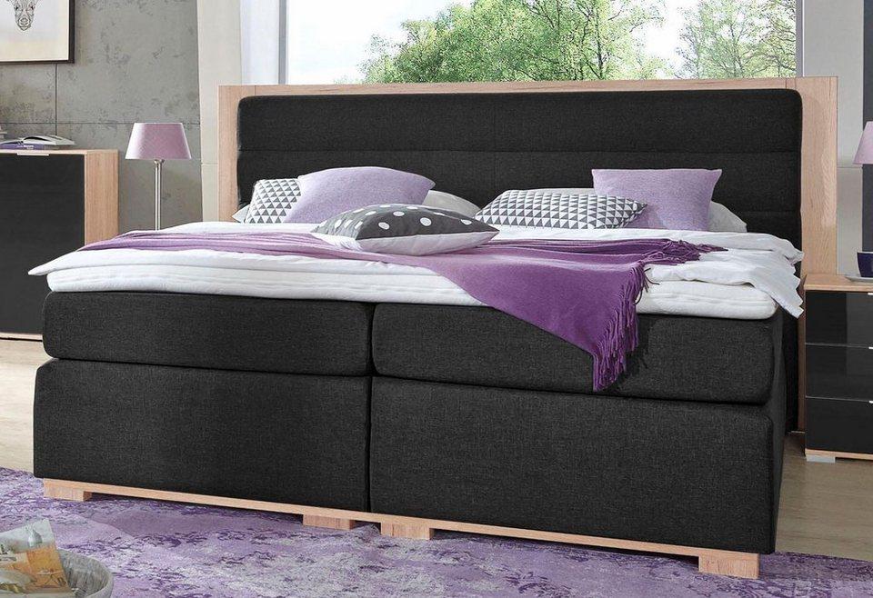 wimex boxspringbett ohio mit topper kaufen otto. Black Bedroom Furniture Sets. Home Design Ideas