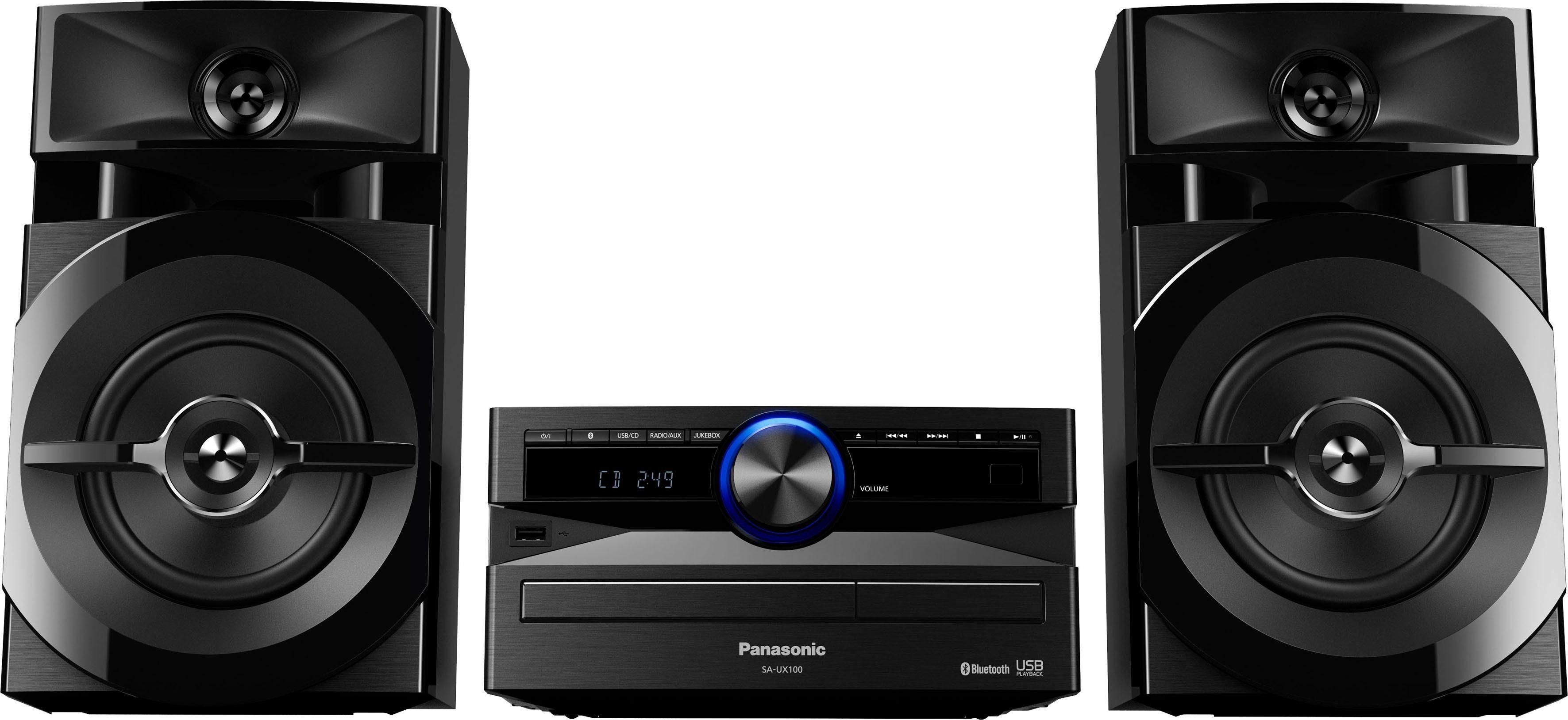 Panasonic SC-UX100 Microanlage, Juke, Bluetooth, RDS, 1x USB