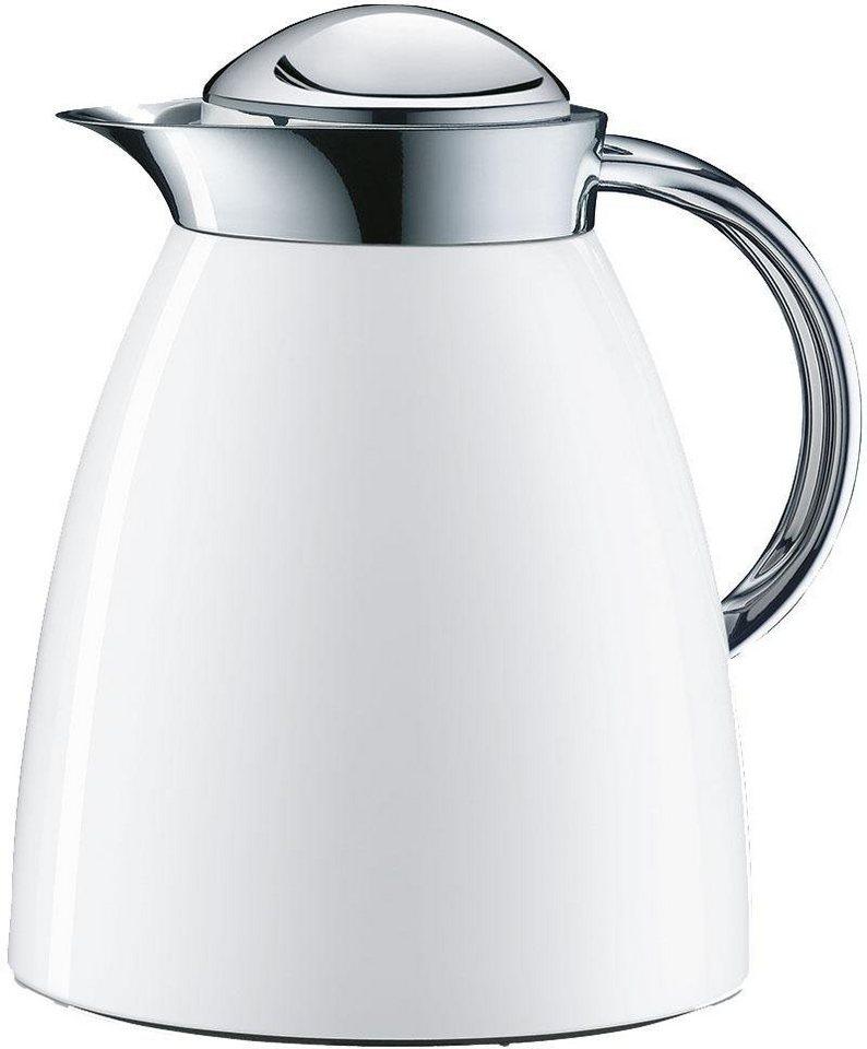 Alfi Isolierkanne, »Gusto Tea Metall« in weiß