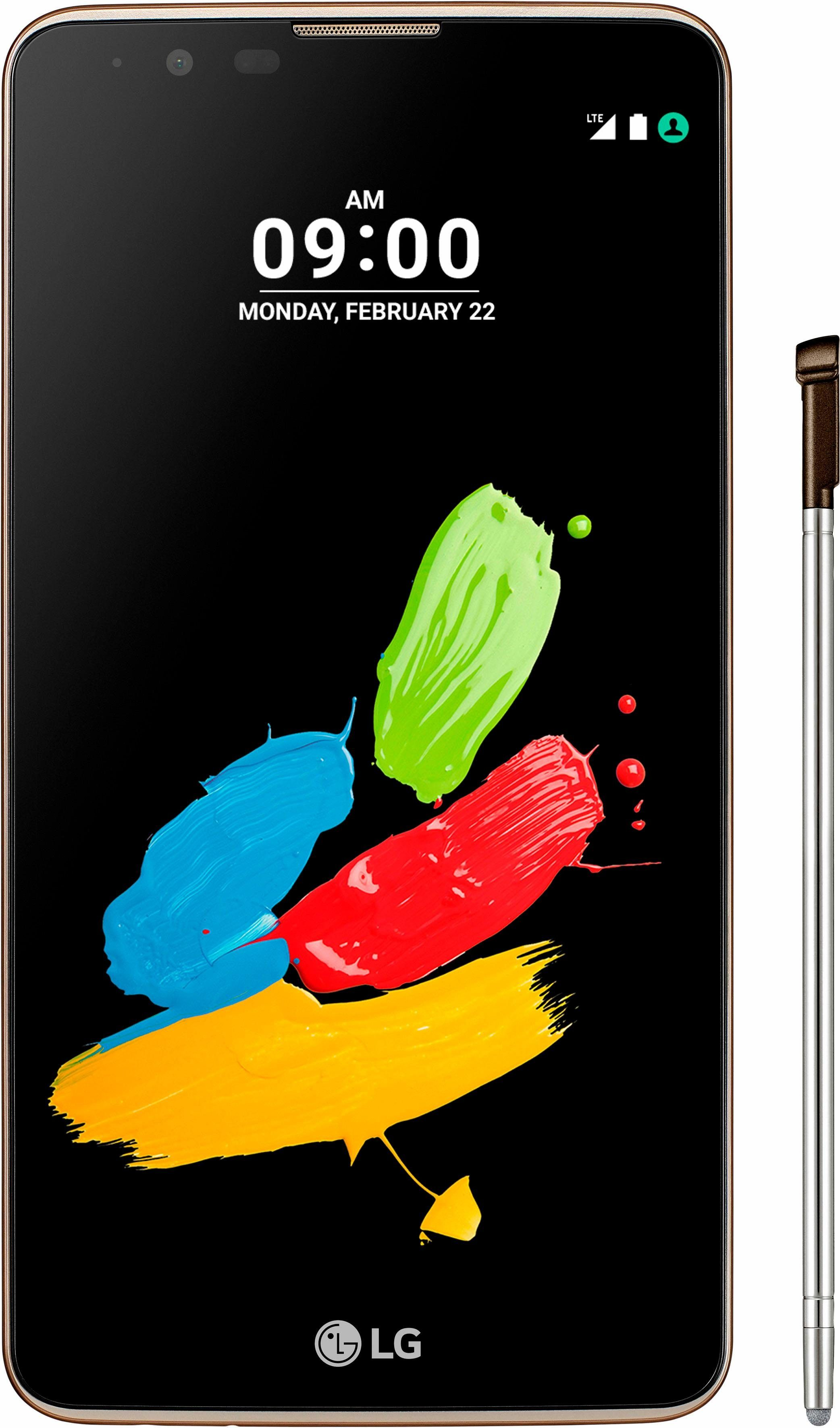 LG Stylus 2 Smartphone, 14,5 cm (5,7 Zoll) Display, LTE (4G), Android 6.0 (Marshmallow)