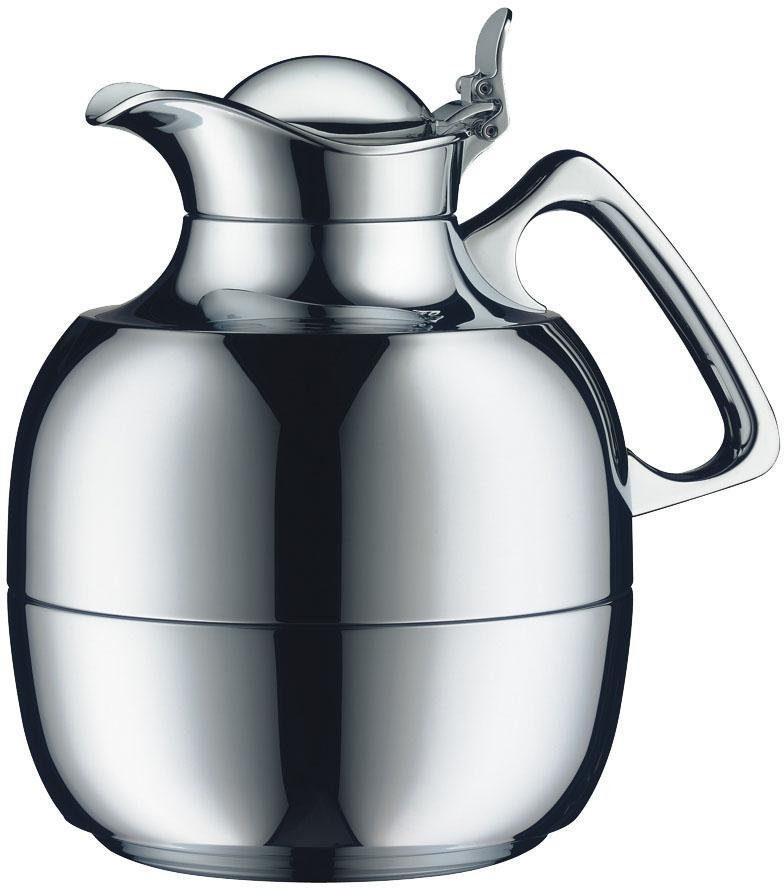 Alfi Isolierkanne »Juwel Tea«, 1 l, Messing verchromt