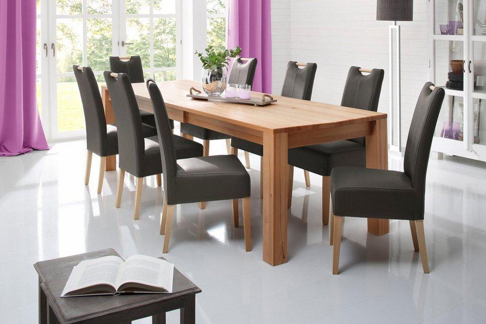 premium collection by home affaire kulissen esstisch oslo breite 160 cm online kaufen otto. Black Bedroom Furniture Sets. Home Design Ideas