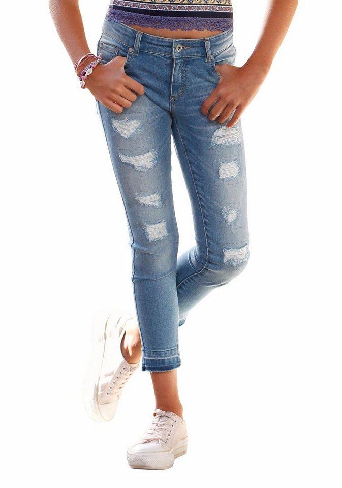 Arizona 7/8-Jeans in blue-denim