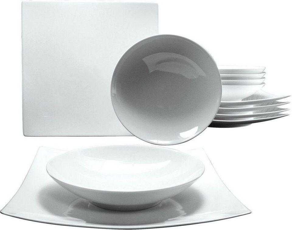 creatable tafelservice porzellan 12 teile new elegance online kaufen otto. Black Bedroom Furniture Sets. Home Design Ideas
