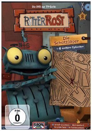 DVD »Ritter Rost - Die Schatzjäger, 1 DVD«
