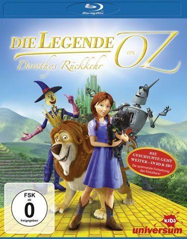 Blu-ray »Die Legende von Oz - Dorothys Rückkehr...«