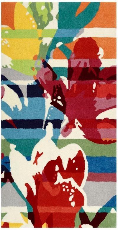 Teppich, ESPRIT, »Floria«, handgetuftet in multicolor