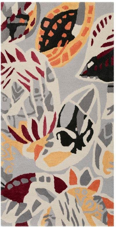 Teppich, Esprit, »Desert Flower«, handgearbeitet, Wolle in sand