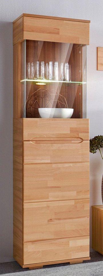 vitrine h he 190 cm 2 t ren online kaufen otto. Black Bedroom Furniture Sets. Home Design Ideas