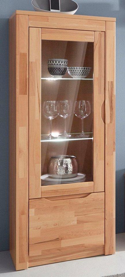 vitrine h he 144 cm online kaufen otto. Black Bedroom Furniture Sets. Home Design Ideas