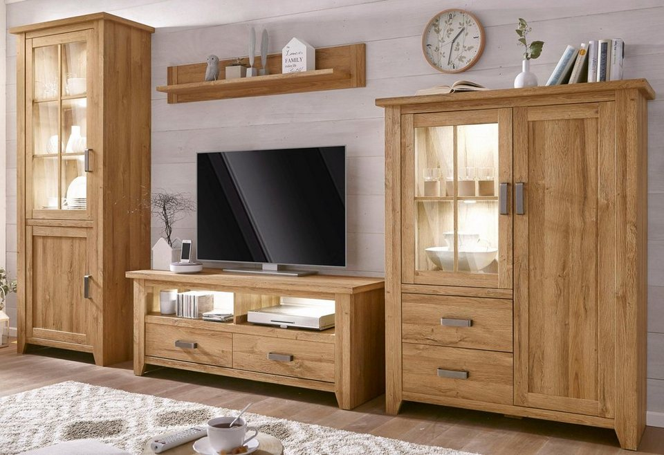 wohnwand canyon 4 tlg online kaufen otto. Black Bedroom Furniture Sets. Home Design Ideas