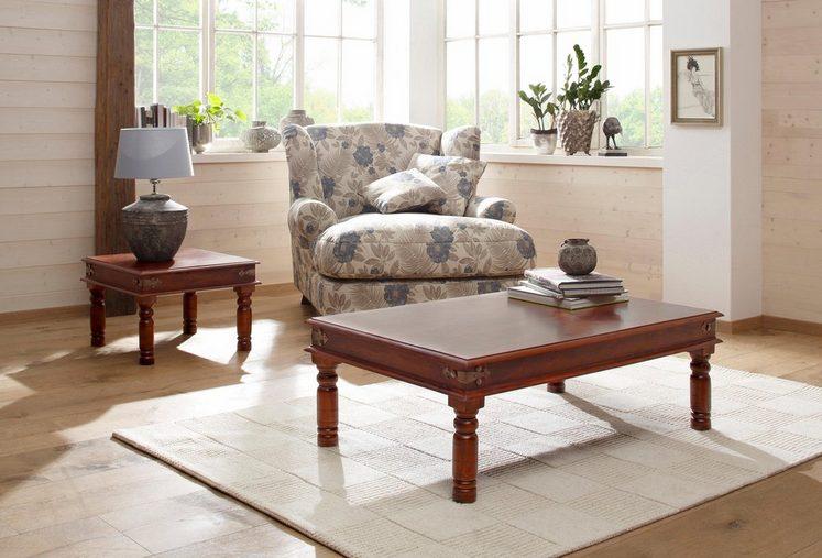Home affaire Couchtisch »Jaya«, mit dekorativen Fräsungen an den Beinen