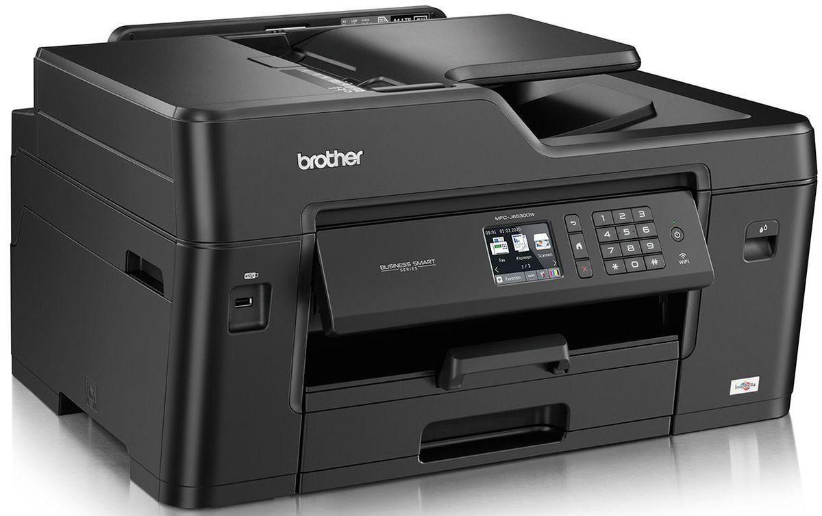 Brother Tintenstrahl-Multifunktionsdrucker »MFC-J6530DW DIN A3 4in1 Multifunktionsdrucker«