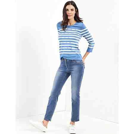 Gerry Weber Hose Jeans »5-Pocket Hose Romy short Kurzgröße«