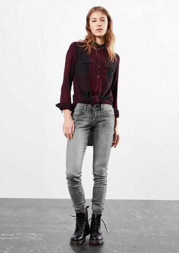 Q/S designed by Sadie Superskinny: Used-Jeans