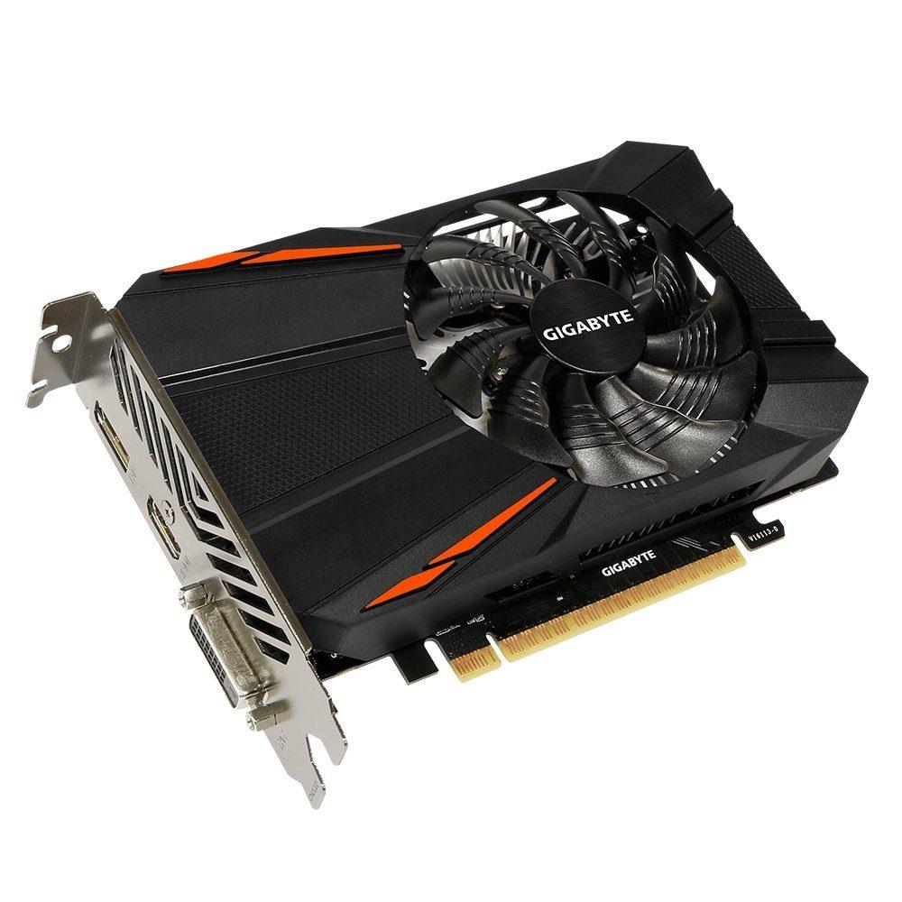 GIGABYTE Grafikkarte NVIDIA GeForce® GTX 1050 Ti 4GB »GV-N105TD5-4GD 4GB GDDR5«