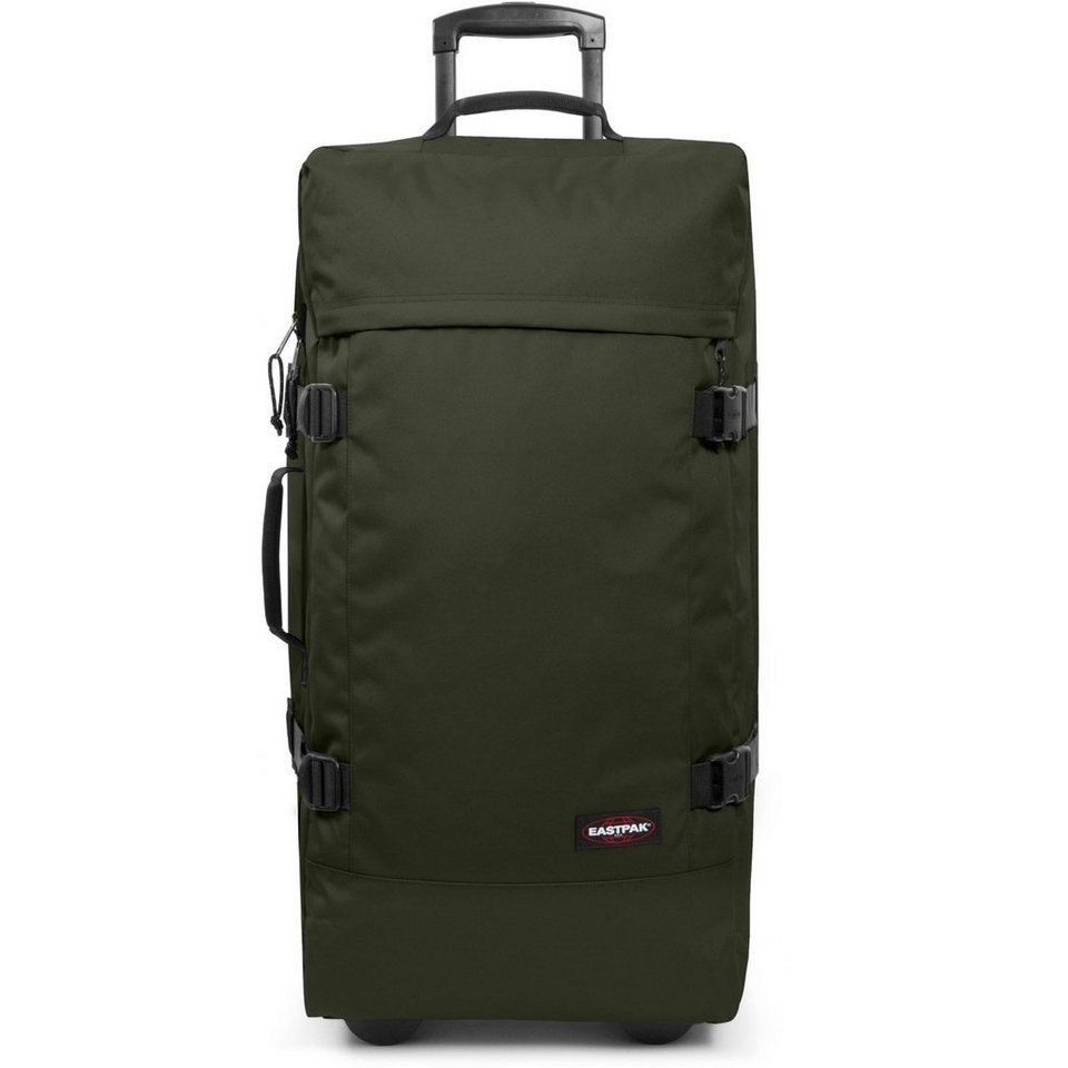 EASTPAK Authentic Collection Tranverz L 162 Double-Deck 2-Rollen Reiseta in army socks