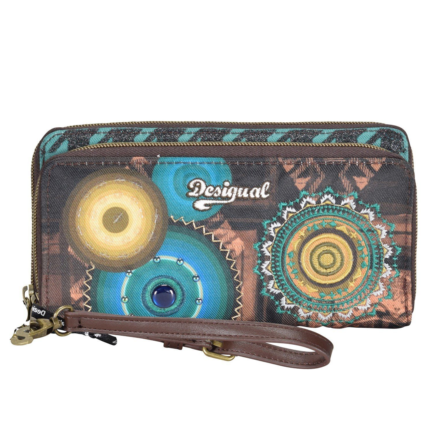 Desigual MONE Two Levels Scotland Geldbörse 19,5 cm