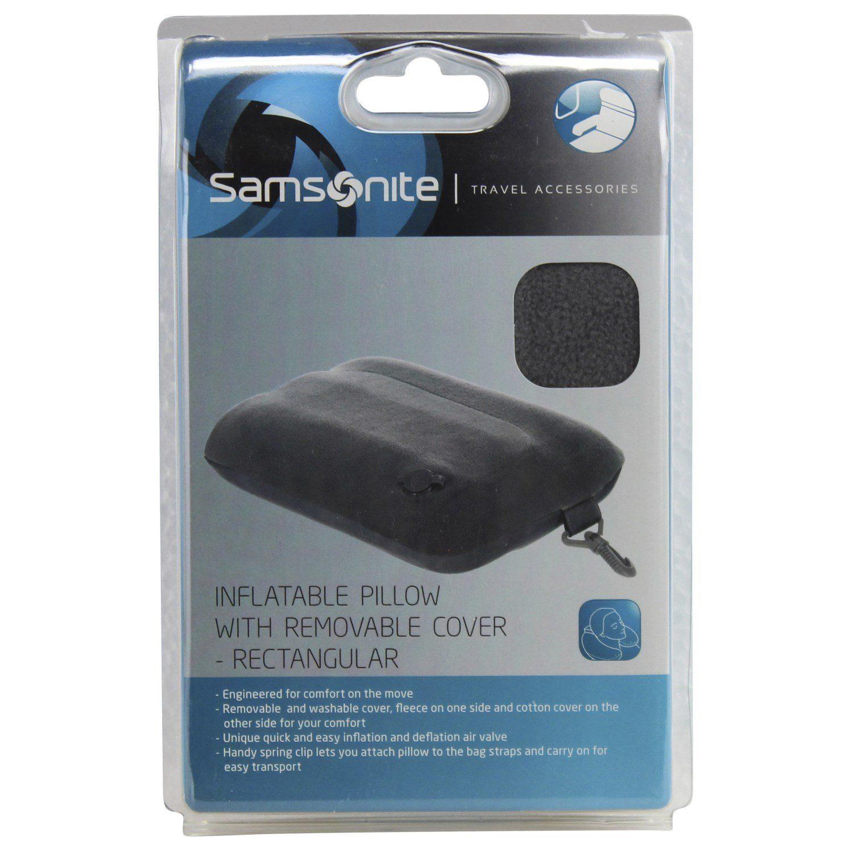 Samsonite Travel Accessories Inflight Pillow aufblasbares Reisekissen