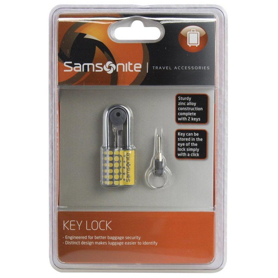 Samsonite Travel Accessories Kofferschloss 6 cm in yellow dots