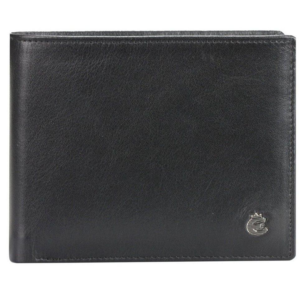 Esquire Esquire Harry Geldbörse Leder 12 cm in black