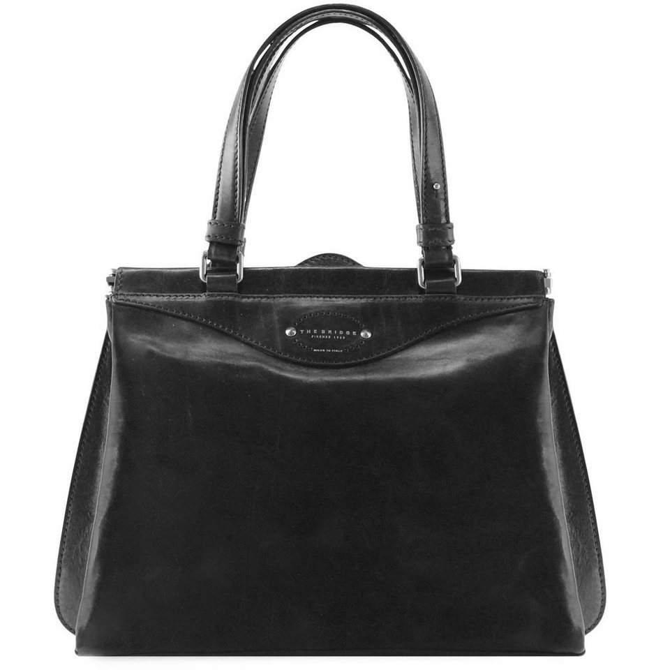 The Bridge The Bridge Brera Handtasche Leder 33 cm in black