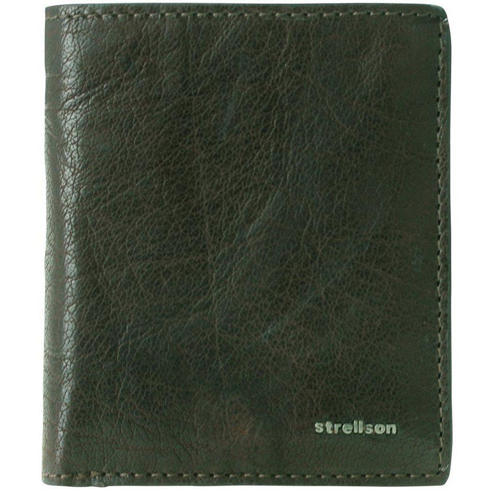 Strellson Jefferson BillFold Q6 Geldbörse Leder 9 cm in green