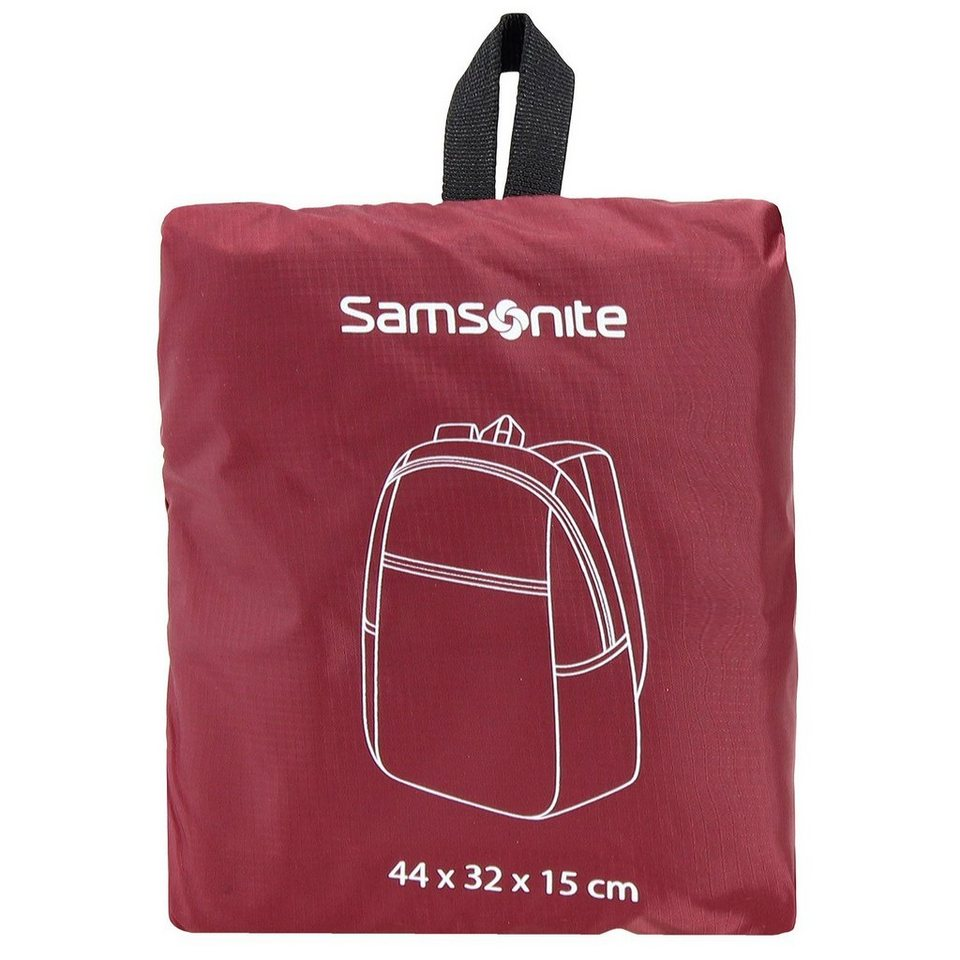 Samsonite Travel Accessories Rucksack 40 cm Laptopfach in red