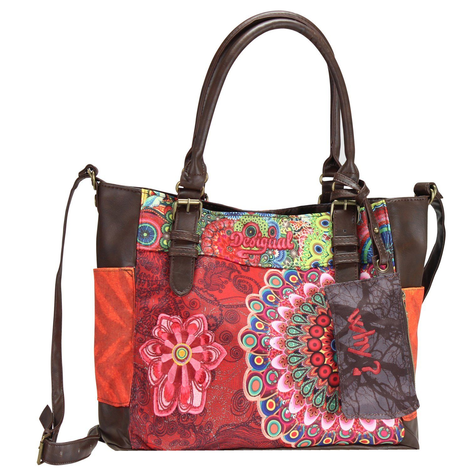 Desigual BOLS Saintropez Seduccio Carry Shopper Tasche 34 cm