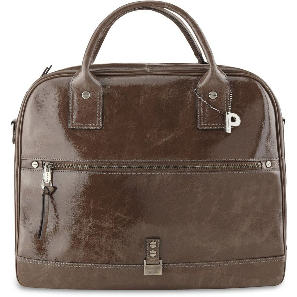 Picard Picard Circus Henkeltasche Leder 40 cm in taupe