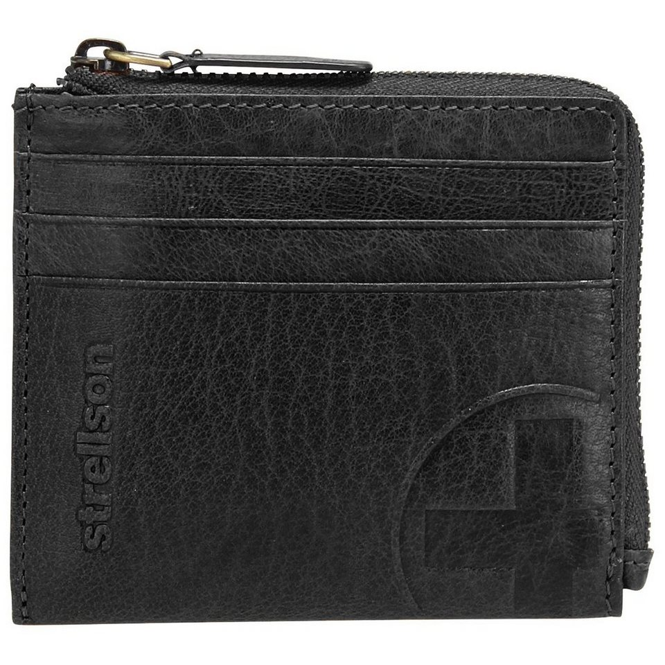 Strellson Edwyn Geldbörse Leder 10 cm in black