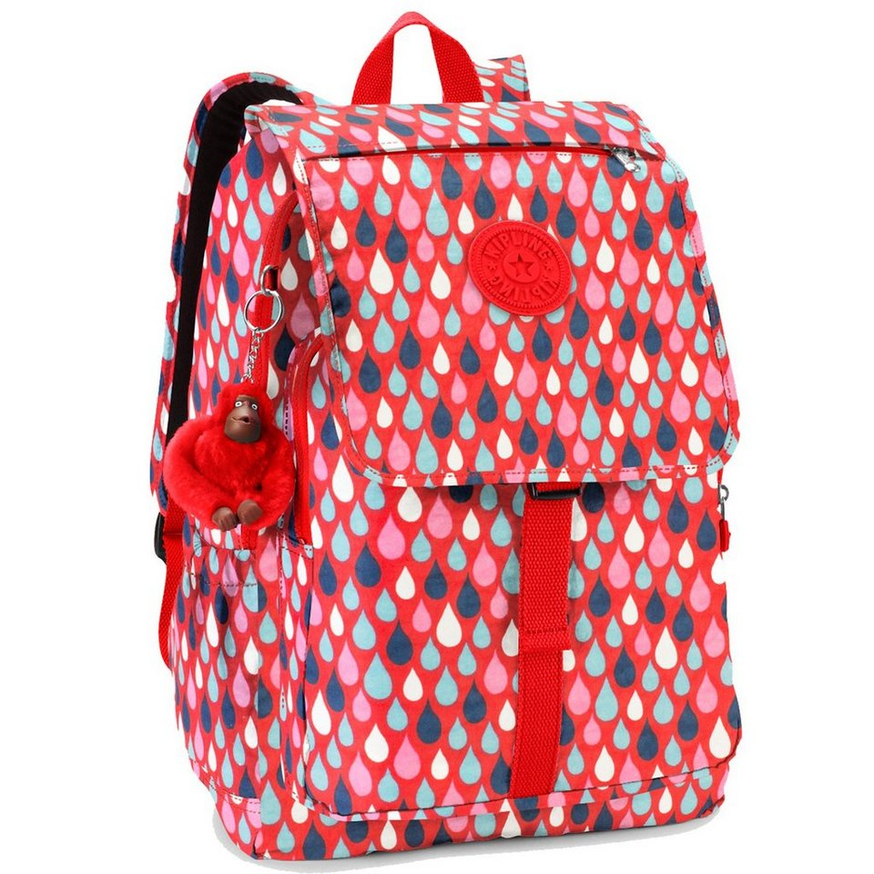 KIPLING Back to School Haruko Rucksack 41 cm Laptopfach in drop print
