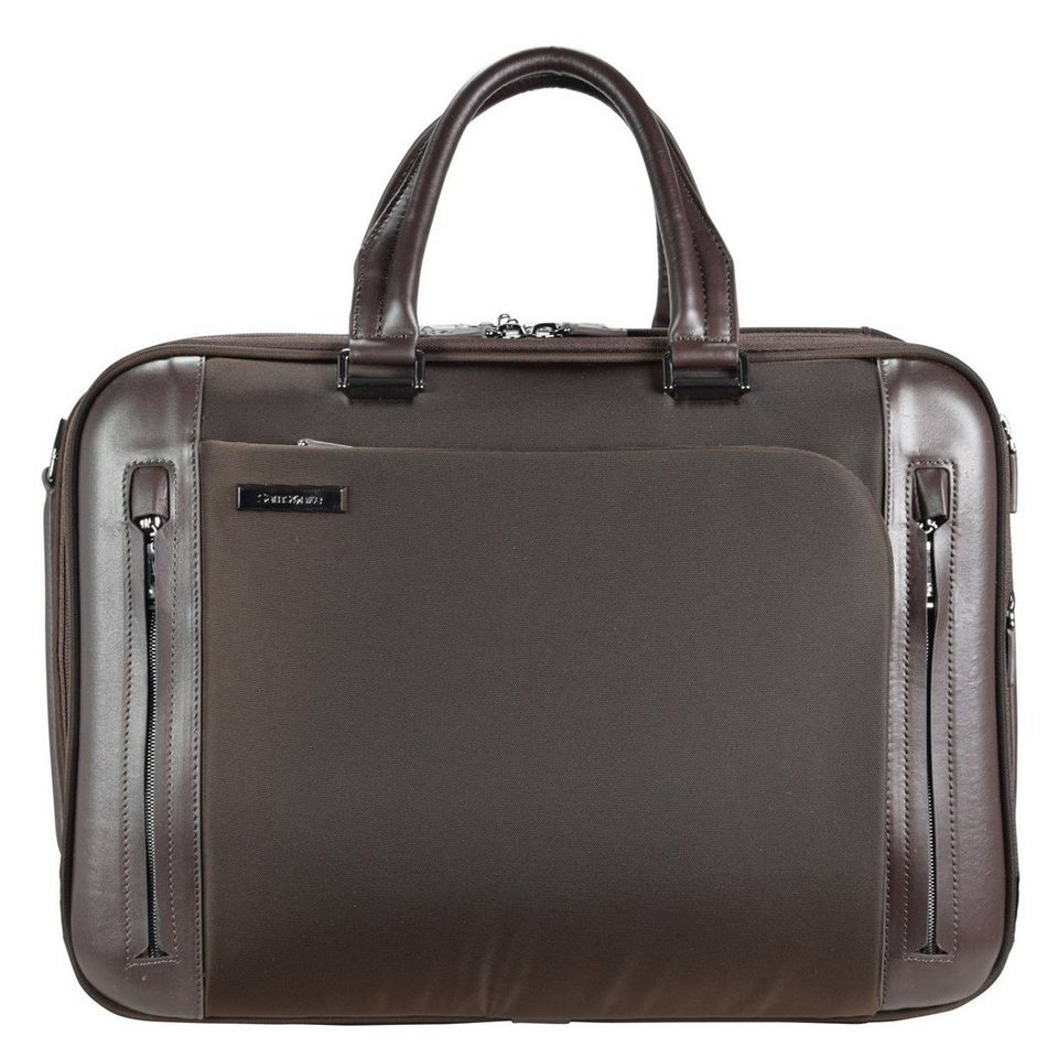 Samsonite Business Tech Aktentasche 45 cm Laptopfach in brown