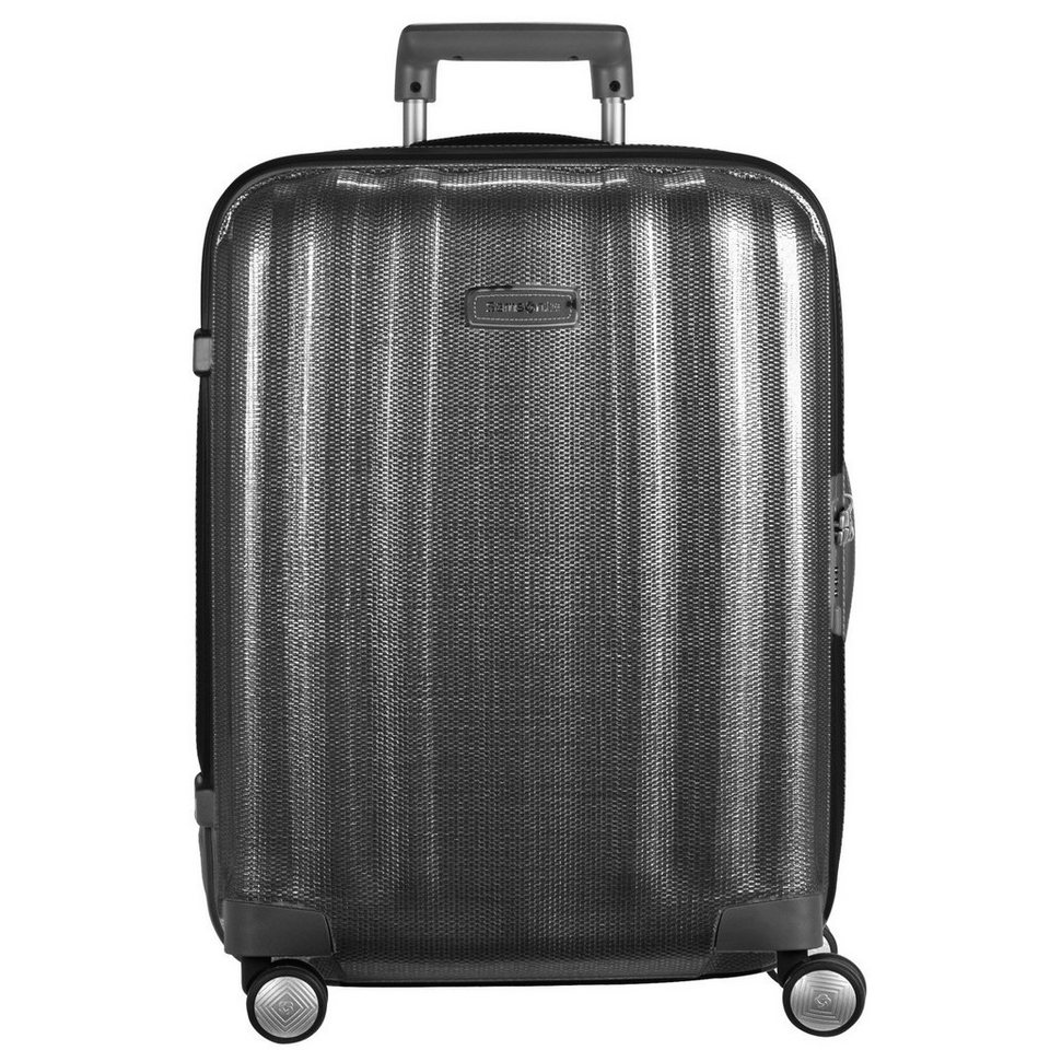 Samsonite Lite-Cube DLX Spinner 4-Rollen Trolley 82 cm in black
