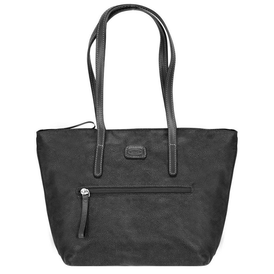 Bric's Portofino Shopper 25 cm in schwarz