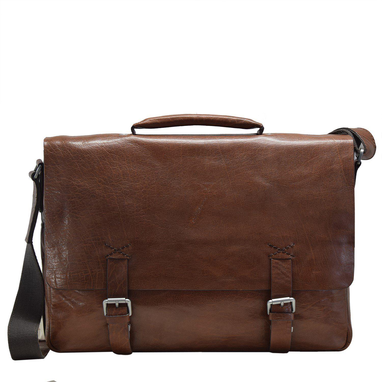 Strellson Greenford Aktentasche Leder 39 cm Laptopfach online kaufen | OTTO
