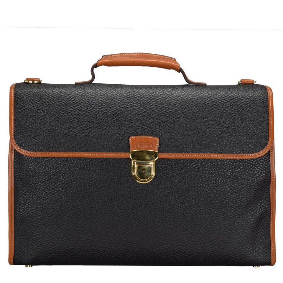 Bric's Magellano Aktenmappe 36 cm in black/brown