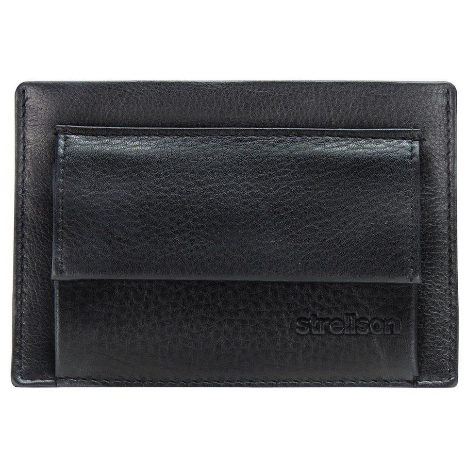 Strellson Strellson Carter Geldbörse Leder 12 cm in black