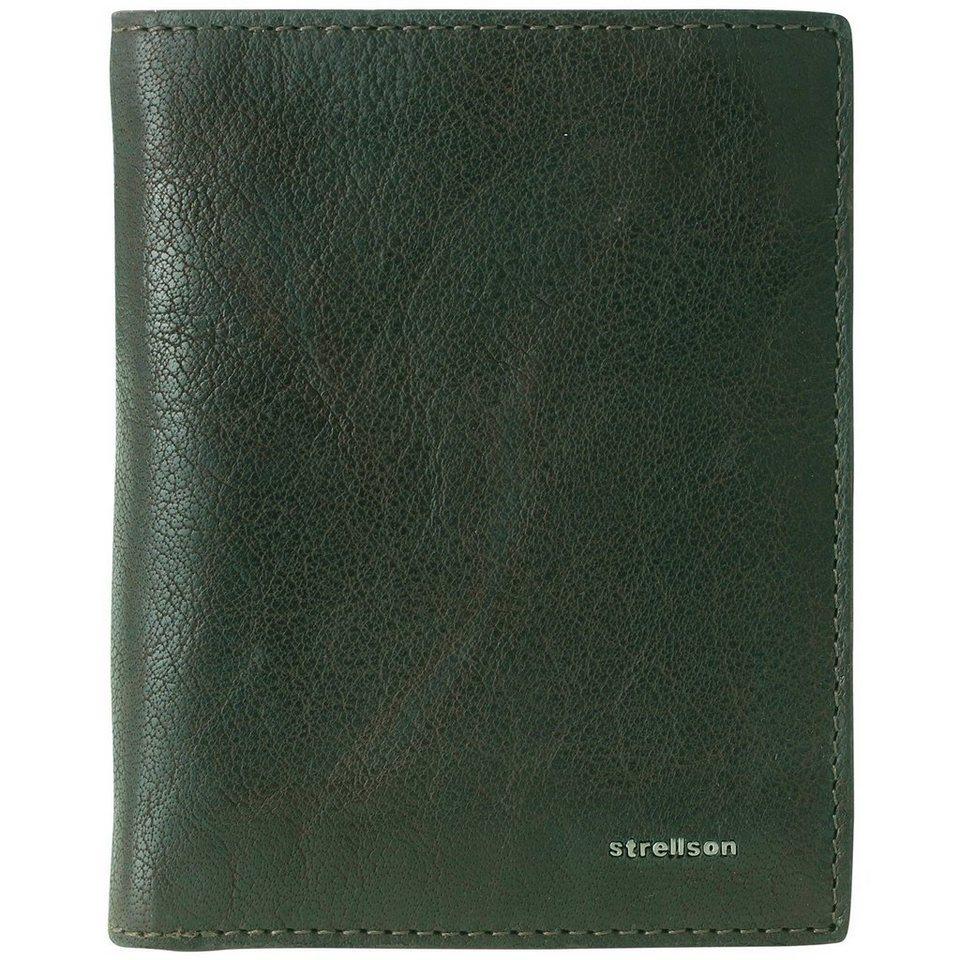 Strellson Jefferson BillFold V8 Geldbörse Leder 10,5 cm in green