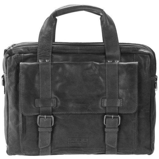 Leder Handtasche amp; 41 Cm Bronco Business Spikes Sparrow Xw4IY