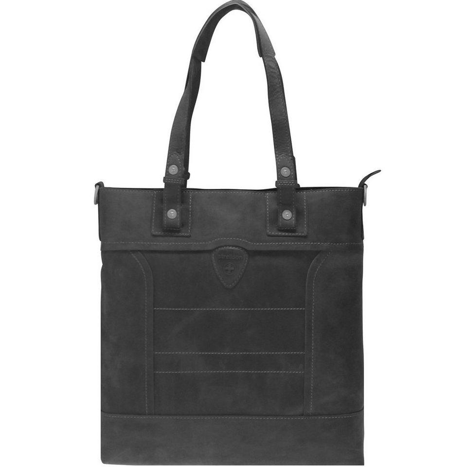 Strellson Strellson Hunter Tote Shopper Tasche 36 cm in black