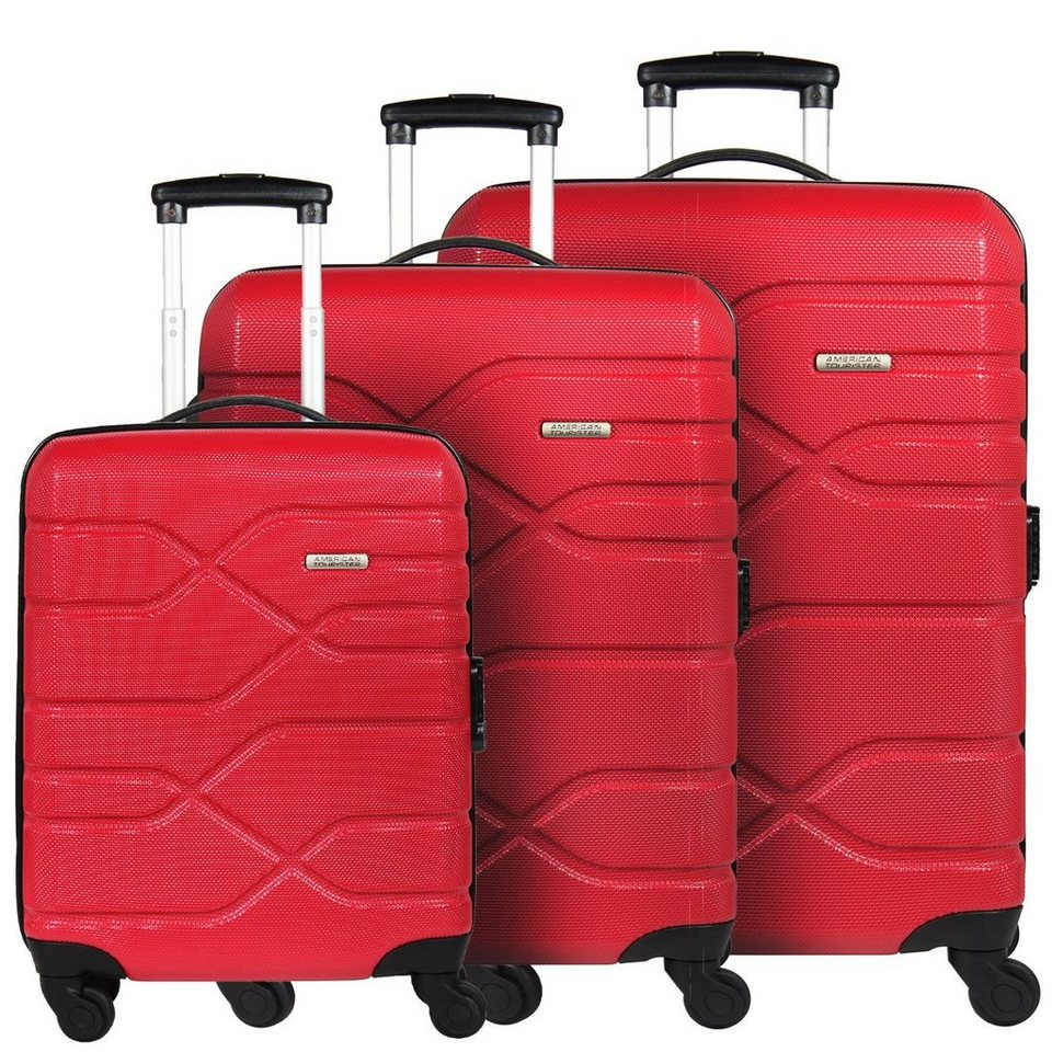 american tourister houston city 4 rollen kofferset 3tlg. Black Bedroom Furniture Sets. Home Design Ideas