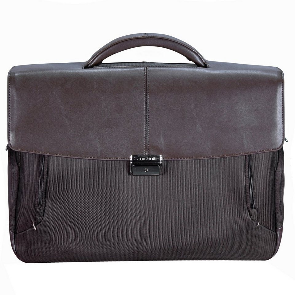 Samsonite Samsonite Fits-U Aktentasche 41 cm Laptopfach in dark brown