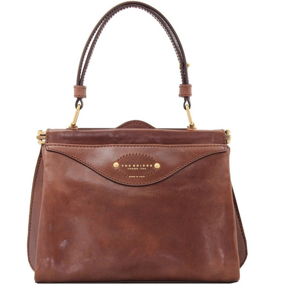The Bridge The Bridge Brera Handtasche Leder 25 cm in marrone