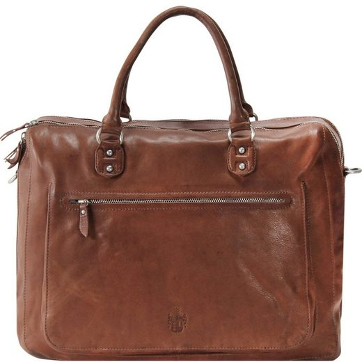 Leonhard Heyden Coventry Aktentasche Leder 41 cm Laptopfach