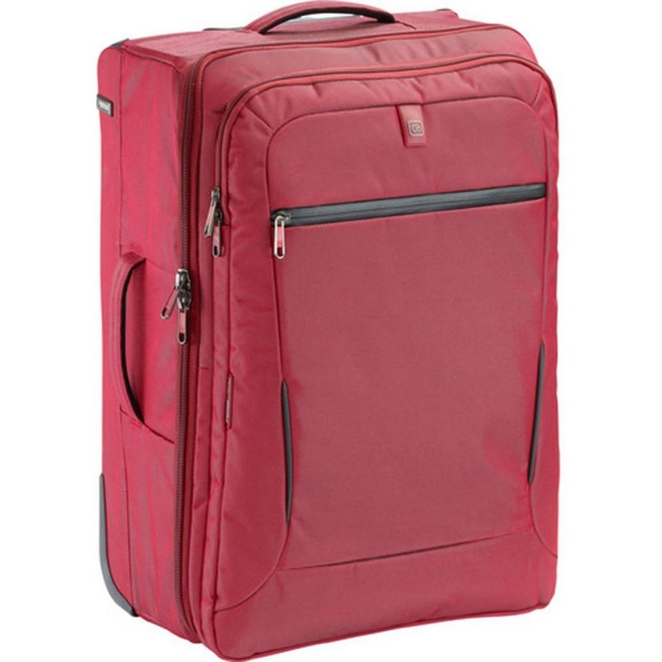 Go Travel Koffer + Trolleys Check-In 24 2-Rollen Trolley 61 cm in strawberry red