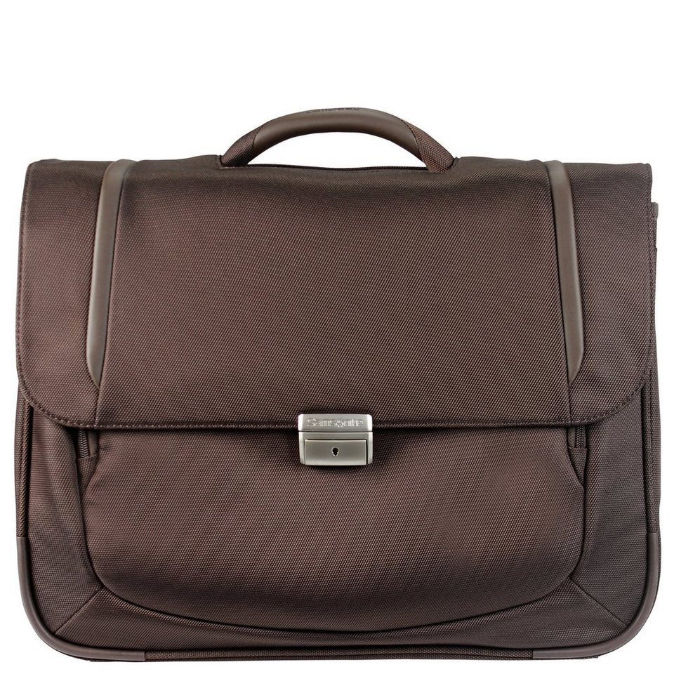 Samsonite Samsonite X Blade business 2.0 Aktentasche M 44 cm Laptopfach in dark brown